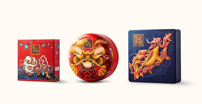 Những mẫu thiết kế và in ấn hộp bánh trung thu đầy sáng tạo 7 - Công ty thiết kế KALAPRESS