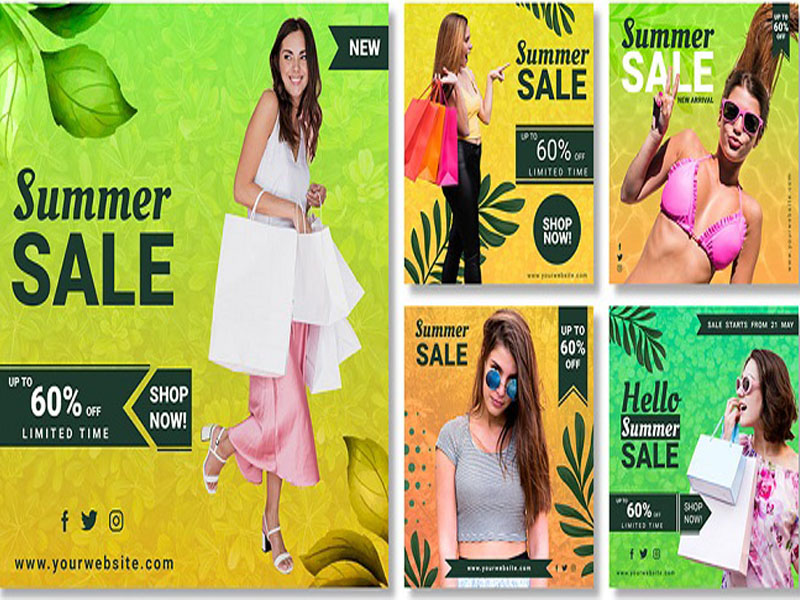 Thiết kế hình ảnh thương hiệu tự nhiên với màu vàng xanh 03   IN KALA