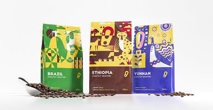 Theo nguyên tắc phối màu trong thiết kế bao bì sản phẩm, một mẫu bao bì hiệu quả chỉ nên phù hợp với 2 đến 3 màu. Làm sao để thiết kế bao bì nhiều màu nhưng không bị rối